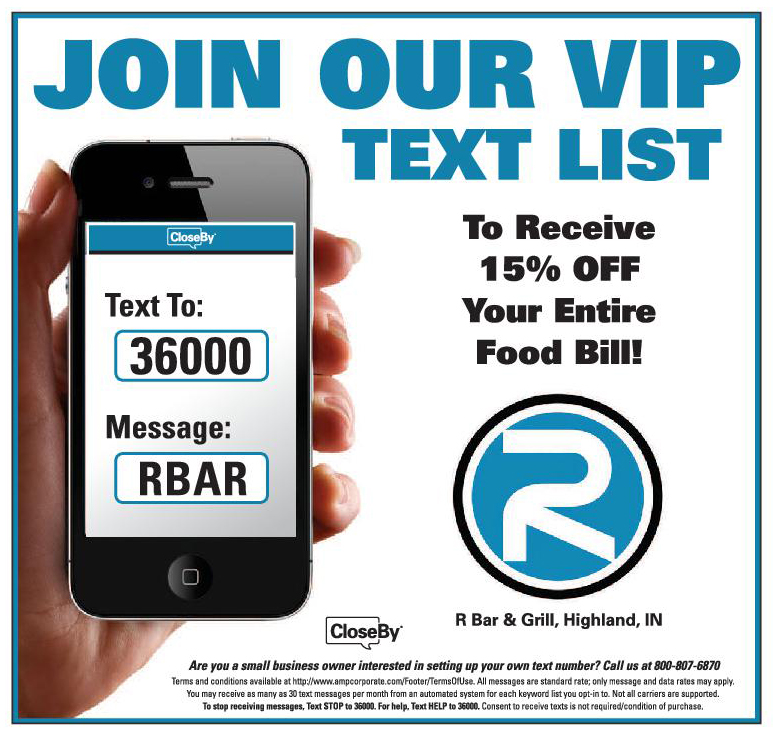 R-Bar Text Club